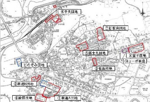 ニセコ町(後志支庁)有島団地