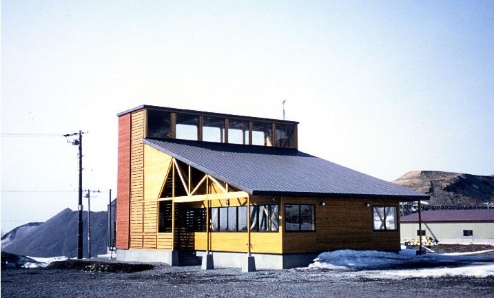 利尻町展望山スキー場管理棟