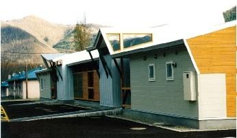白滝村公営住宅中央団地