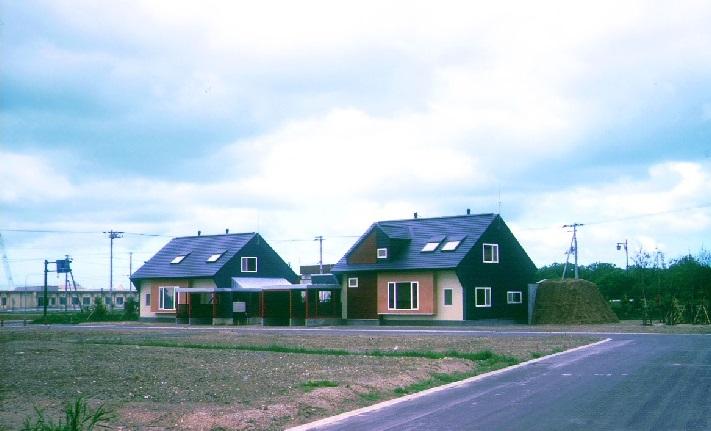 豊富町サロベツ住宅